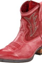 Ariat Ariat Womens Billie Western Boot in Red (red brunido/ pebbled red) - Lyst