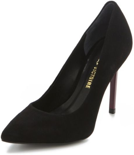 Pour La Victoire Easton Pumps in Black - Lyst