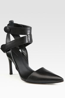 Alexander Wang Sonja Leather Strappy Pumps - Lyst