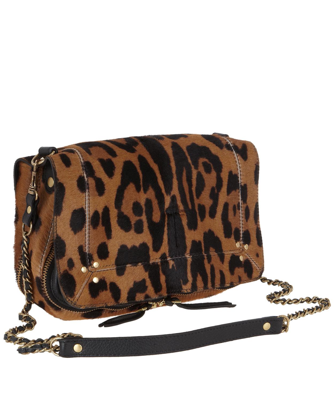 Jerome Dreyfuss Bobi Shoulder Bag Leopard Wxxba0