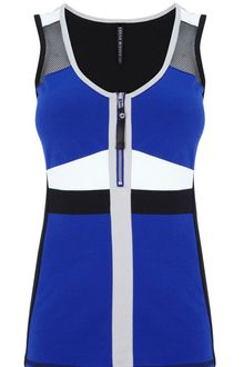 Karen Millen Colourblock Sporty Vest - Lyst