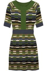 M Missoni Crochet knit Dress - Lyst