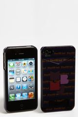 Marc By Marc Jacobs Mbmj Graphic Logo Card Holder Iphone 4 Case - Lyst