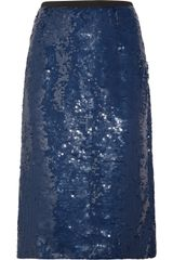 Marni Sequined Skirt - Lyst