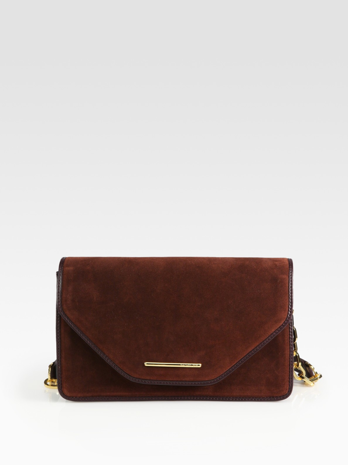 Rachel Zoe Charlotte Suede Shoulder Bag 30