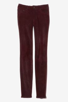 Rag & Bone Preorder Midrise Leather Pant - Lyst