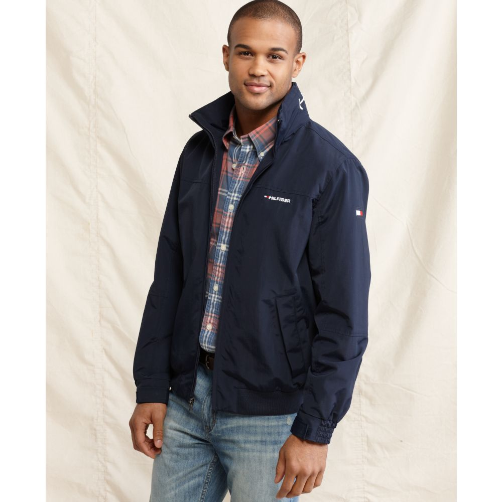 tommy hilfiger tommy yacht jacket in blue for men lyst. Black Bedroom Furniture Sets. Home Design Ideas