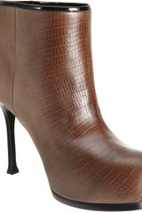 Yves Saint Laurent Tribtoo Ankle Boot - Lyst
