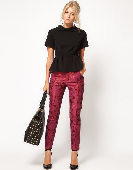 eci Womens Menswear Jacquard Knit Pants. by ECI New York. $ $ 34 99 Prime. FREE Shipping on eligible orders. Some sizes/colors are Prime eligible. Product Features flare to your wardrobe with these eci™ Menswear Jacquard Knit Pants Nanette Nanette Lepore Women's Jacquard Pants.