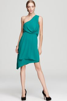 BCBGMAXAZRIA One Shoulder Dress Somara Asymmetric - Lyst