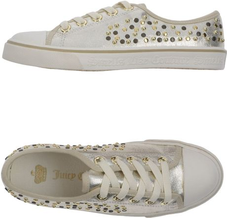 Juicy Couture Trainers in Beige