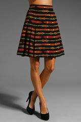 Nanette Lepore Thoroughbred Skirt - Lyst