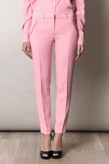 No 21 Cropped Trousers - Lyst