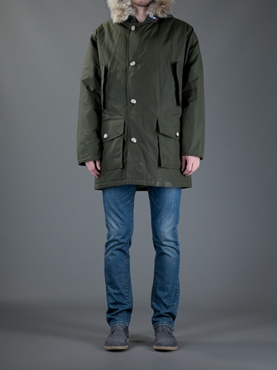 Lyst Arctic Green In Men For Woolrich Parka dY1qwS1p