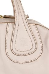 Givenchy Medium Nightingale Waxy Leather Bag in Beige (grey) - Lyst