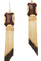 Iosselliani Tigers Eye Earrings - Lyst