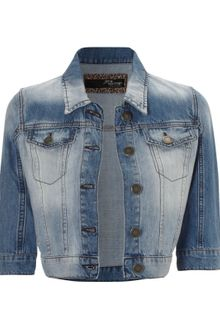 Jane Norman Denim Western Jacket - Lyst