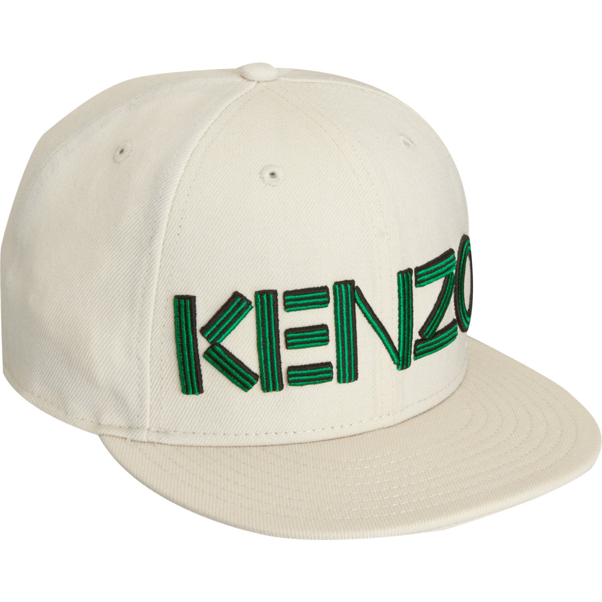 Kenzo embroidered hat in green for men white lyst