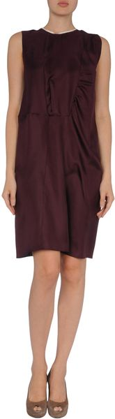 Marni Short Dress in Purple - Lyst