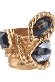 Yves Saint Laurent Embellished Ring - Lyst