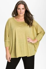 Eileen Fisher Boxy Dolman Sleeve Top - Lyst