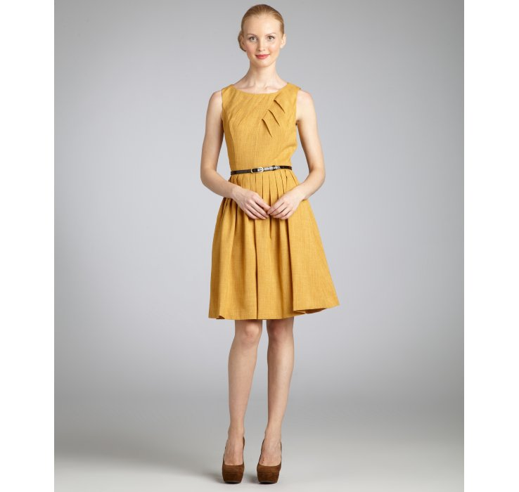 The yellow and gold dress – Dress and bottoms