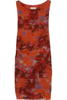 Erdem Adrianna Printed Silk georgette Dress - Lyst