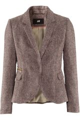 H&m Jacket in Brown - Lyst
