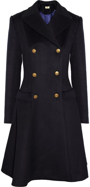 Issa Wool and Cashmere-blend Coat - Lyst