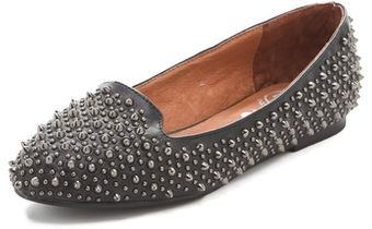 Jeffrey Campbell Martini Studded Loafers - Lyst