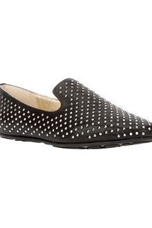 Jimmy Choo Wheel Studded Loafer - Lyst