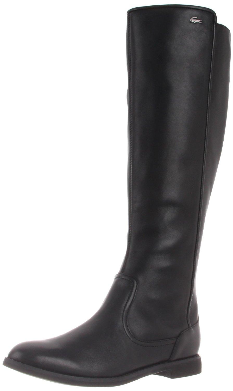 lacoste lacoste womens rosemont 4 boot in black lyst