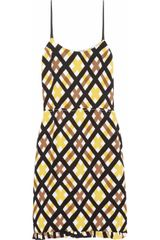 Marni Aviary Printed Crepe Dress - Lyst