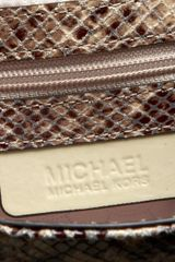 Michael By Michael Kors Michael Michael Kors Gibson Clutch in Animal (dark sand) - Lyst