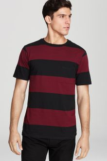 Saturdays Surf Nyc Randall Block Stripe Tee - Lyst