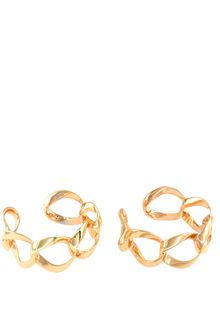 Asos Double Chain Cuff - Lyst