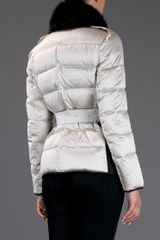 Burberry Padded Jacket in Beige (cream) - Lyst
