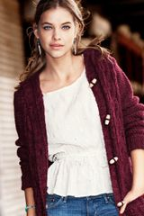 H&m Cardigan in Beige (natural) - Lyst