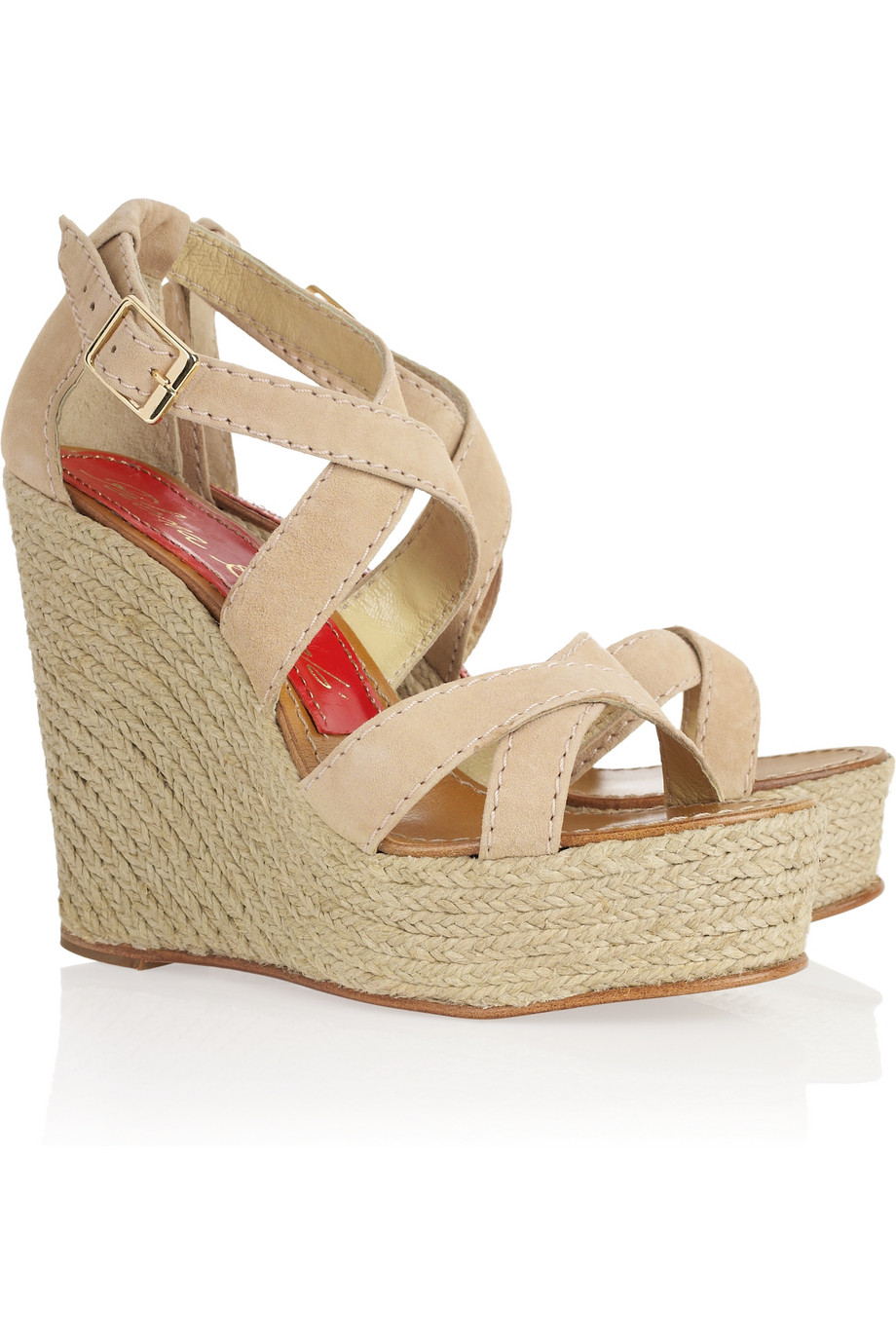 Lyst Paloma Barcel 243 America Suede Espadrille Wedge