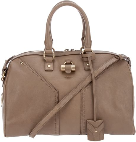 Yves Saint Laurent Weekly Muse Tote in Brown (nude) - Lyst