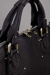 Chloé Padlock Bag in Black - Lyst