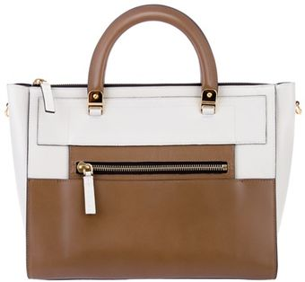 Marni Leather Panel Tote - Lyst