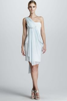 Notte By Marchesa One Shoulder Cocktail Dress - Lyst