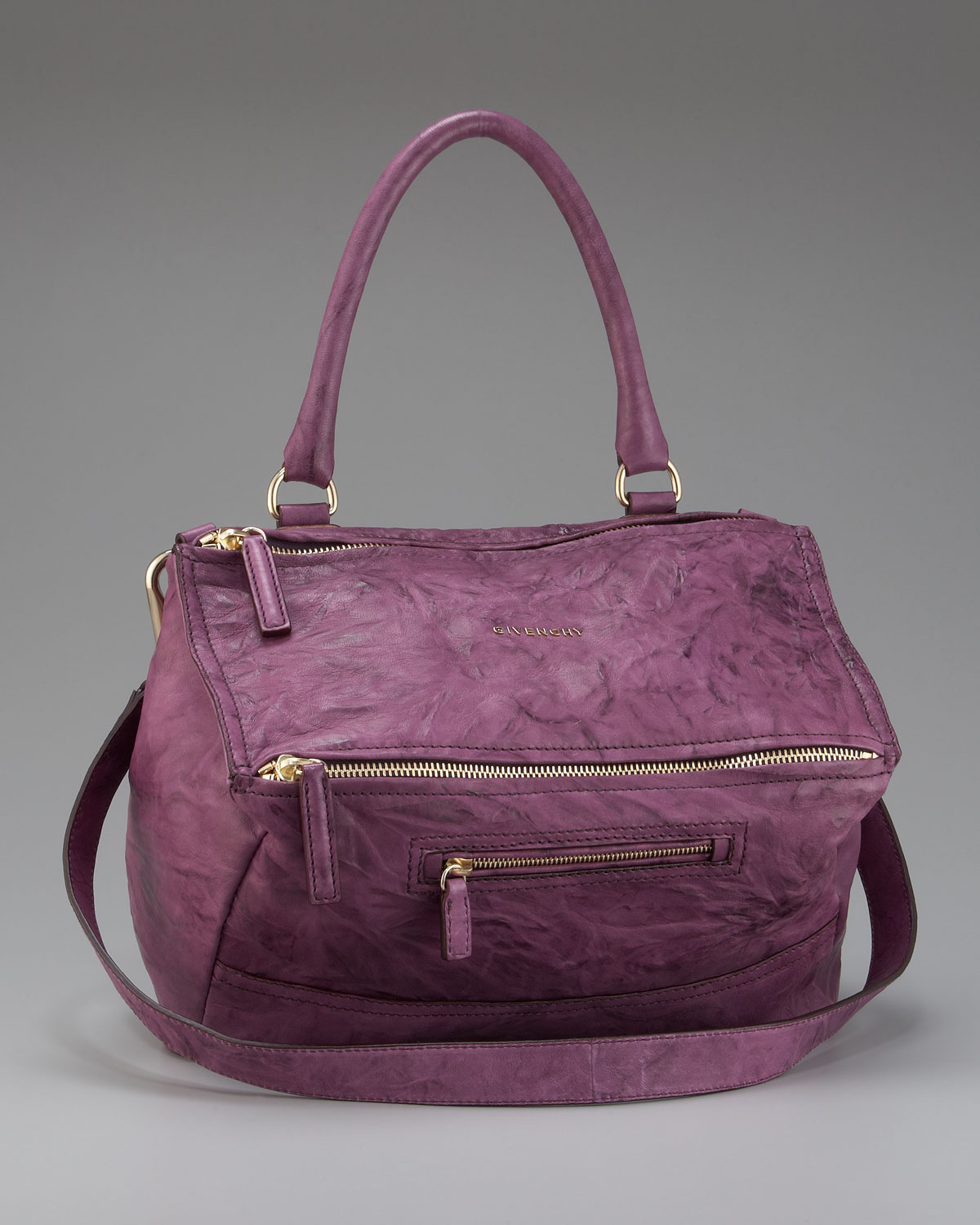 Lyst - Givenchy Pandora Pepe Shoulder Bag Medium in Purple 15c44156c8b59