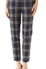 Juicy Couture Eton Plaid Pants in Blue - Lyst