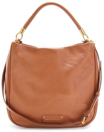 Marc By Marc Jacobs Textured Leather Hobo - Lyst