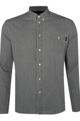 Paul Smith Long Sleeved Denim Shirt - Lyst