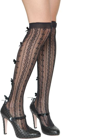 RED Valentino Over The Knee Socks - Lyst