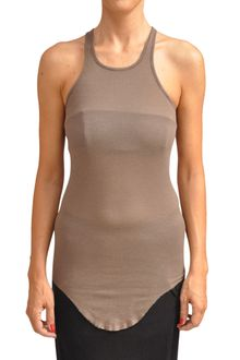 Rick Owens Tank Top Jersey and Silk - Lyst