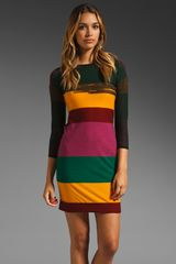 Sonia By Sonia Rykiel Striped Dress - Lyst